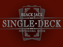 Игровой аппарат Single Deck Blackjack Professional Series