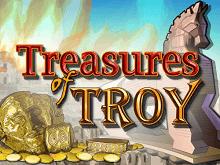 Игровой слот Treasures Of Troy